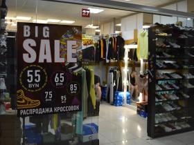 Кроссовки и одежда в магазине ASA shop в Торговом Центре «Немига 3»