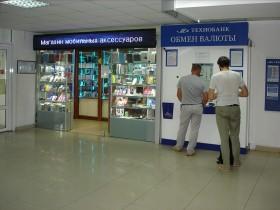 ОБМЕН ВАЛЮТ - «ТЕХНОБАНК»  (Technobank) на 1 этаже Торгового Центра «Немига 3»
