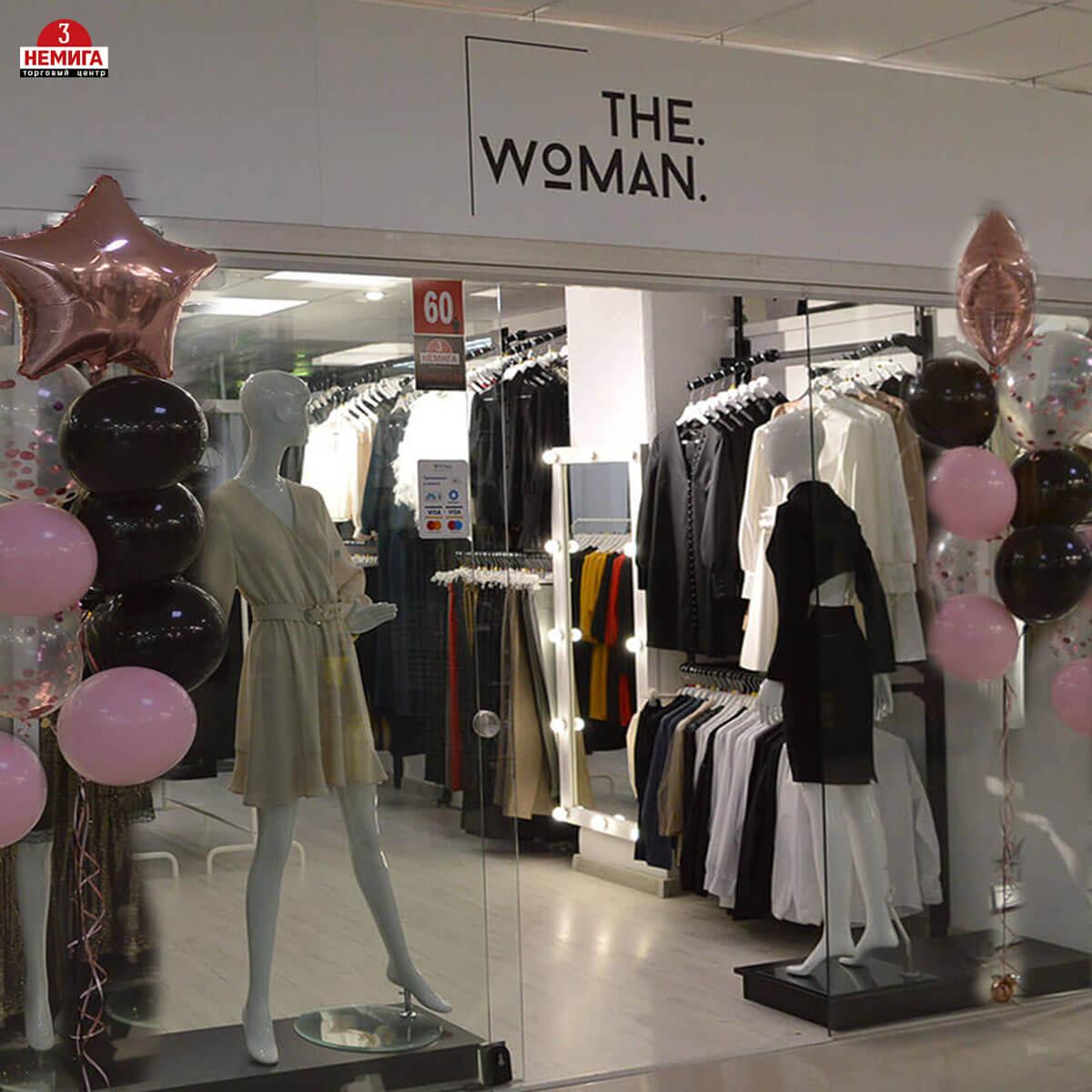 Открылся новый магазин женской одежды «The woman»