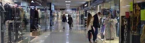 Аренда магазинов в торговом центре на 2 этаже