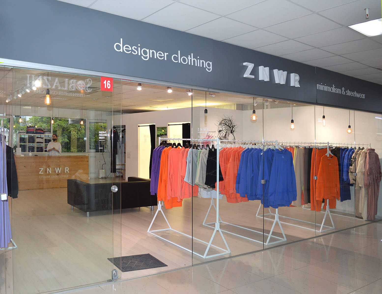 ZNWR  (ZEN wear)  - магазин дизайнерской одежды стиля минимализм